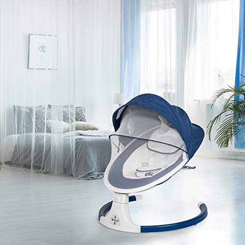 41w0i+vjnaL The Best Battery Operated Baby Swings in 2021 Reviews
