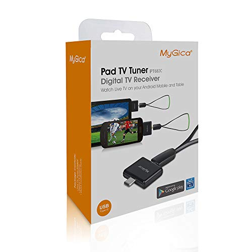 MyGica tv Tuner for Watching ATSC Digital TV Anywhere You go with Type-C Connector on Android Mobile or Pad (PT682C)
