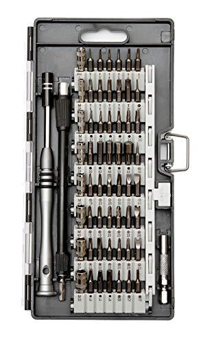 NIKAet.ks【 最新版 60in1 】 精密ドライバーセット 56種ビット 特殊ドライバー ドライバー 磁石付き 耐摩...
