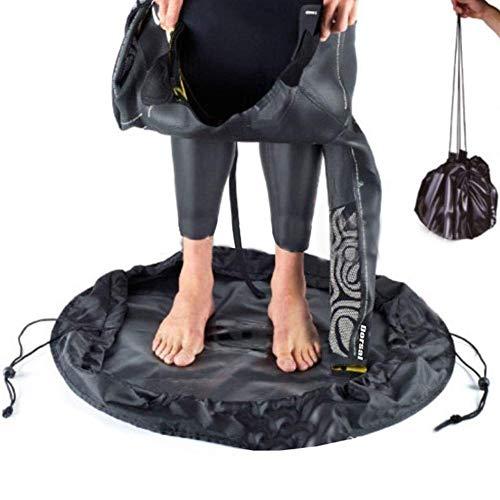Changing Mat - Cambiador portátil y bolsa de neopreno para natación, resistente al agua