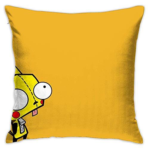landianguangga Pikachu - Funda de cojín cuadrada decorativa para sofá cama, 45,7 x 45,7 cm