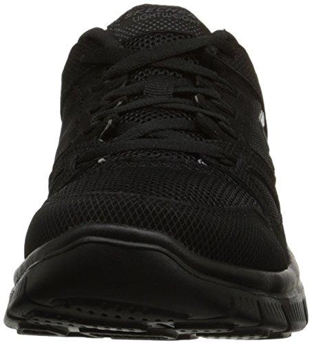 Skechers Flex Advantage - Zapatillas de correr para niño, color Negro, talla 29 EU Niño