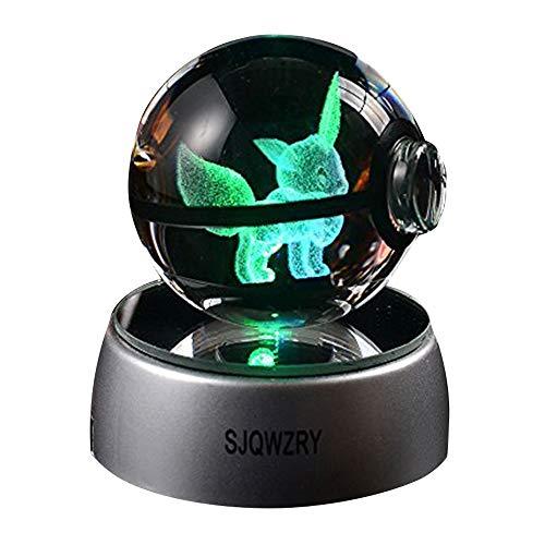 3D crystal LED Night Light,7 Colors…