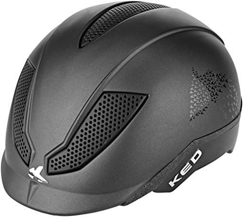 KED Pina Helm Kinder Black Script Matte Kopfumfang M | 51-56cm 2021 Fahrradhelm