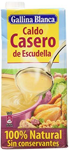 Gallina Blanca - Caldo Casero de Escudella 100% Natural, 1000 Mililitros