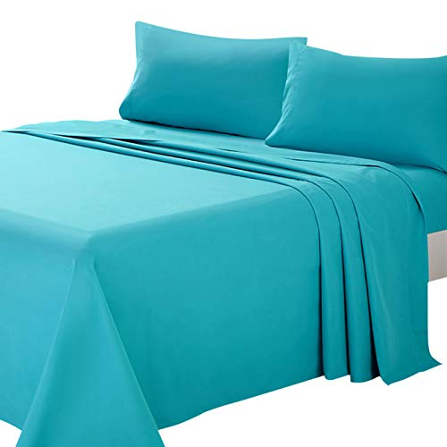 teal sheets twin - 1