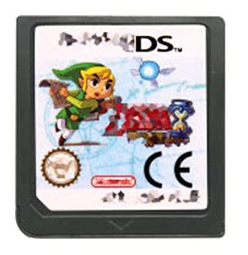 TYLJ MYBHD Tarjeta de Consola del Cartucho del Juego DS La Leyenda de la Serie Zelda es Adecuada for Nintendo DS 3DS 2DS (Color : Phantom Hourglass EU)