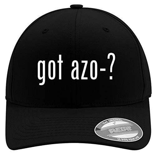 got AZO-? - Men's Soft & Comfortable Flexfit Baseball Hat, Black, Small/Medium
