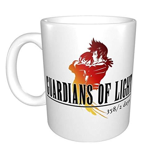 N\A Final Fantasy 358-2 días, Taza de café de cerámica Divertida única, Taza de té de café de Oficina en casa para Regalo de Festival novedoso