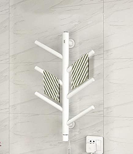 WGFGXQ Toalleros con calefacción para baños Hogar eléctrico Baño Toallero eléctrico Inteligente Estante de Secado XP21 Touch Personalidad Árbol de Valor 540 * 350 * 220 mm