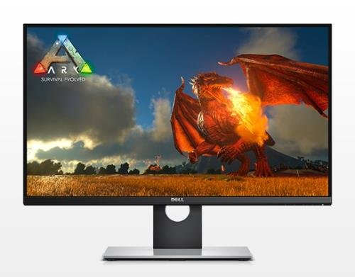 Dell S2716DG 27-Inch TN LED Gaming 16:9 Widescreen monitor with Nvidia G-Sync QHD (2560 x 1440DP) 144Hz HDMI 1.4, Display Port 1.2 210-AGUL