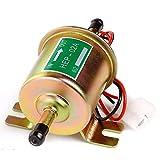 HCHL Accesorios para Bombas PC 1 Bomba de Combustible eléctrica de Gasolina de Gasolina Diesel Universal de Baja presión Portátil (Color : Golden, Voltage : 24V)