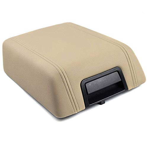 Speedmotor Beige Center Console Armrest Lid Kit w/Latch Replacement for Ford...