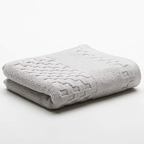CMZ Toalla Simple de algodón Puro Toalla Absorbente Toalla de Corte Simple Pareja Toalla de Lavado Facial Diaria (32x74 cm)