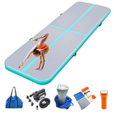 Amazon - 8% Off on Air mat Tumbling track 10ft 13ft 16ft 20ft Gymnastics Mats Thickness 4 inches
