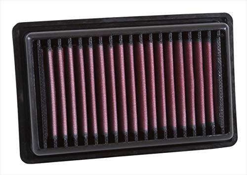 K&N 33-3043 Motorluftfilter: Hochleistung, Prämie, Abwaschbar, Ersatzfilter, Erhöhte Leistung, 2014-2019 (Twingo, Forfour, Fortwo, Cabrio)