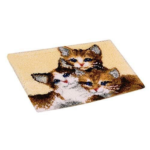 Kit per fabbricare tappeti a punto croce