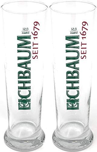 2x Eichbaum Haut Verre à bière