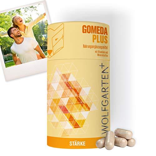 HOMEDA GOMEDA PLUS • hCG-Diät-Kapseln • Nahrungsergänzungsmittel inkl. Vitaminen und Mineralstoffen für Deine 21-Tage-Stoffwechselkur und andere Diäten