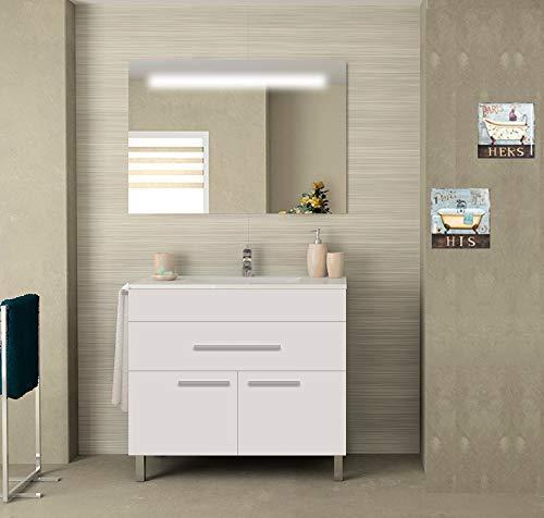 Muebles De Baño Con Lavabo Marca PDM