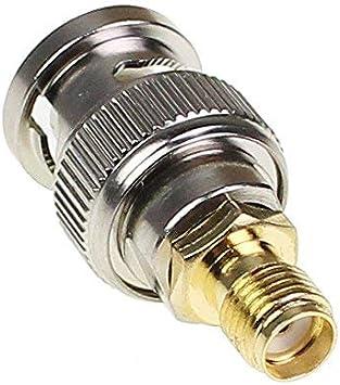 Oxoxo Kits de SMA vers BNC RF Coaxial adaptateur m/âle femelle Coax connecteur