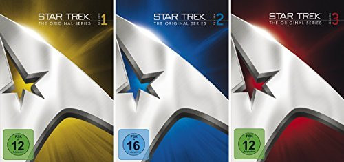 Star Trek - Raumschiff Enterprise - Staffel 1 -3 im Set - Deutsche Originalware [23 DVDs]