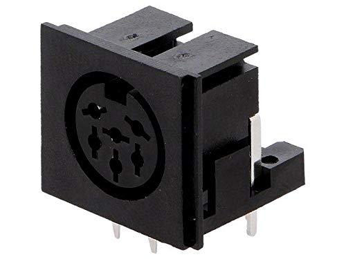 1636-07 conector para DC-alimentación eléctrica 7,9//5,6//0,9mm macho soldadura de latón 1636 07