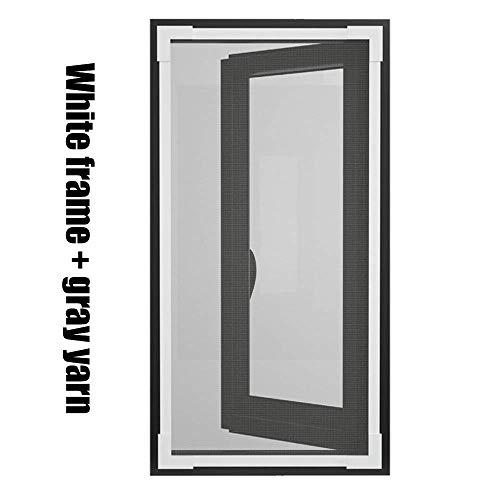 Carexy Fliegengitter Fenster magnetisch, selbstklebend, ohne Bohren, einfache Installation, Fliegengitter magnetisch für Schlafzimmer Fenster, B, 170*180cm