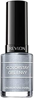 Revlon Colorstay Gel Envy Long Wear Nail Enamel, Silver Lucky Us, 11.7ml