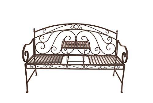 Gravidus Metallbank mit hochklappbarem Tisch