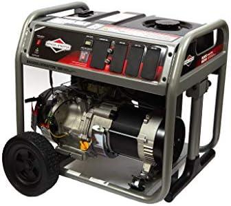 Briggs Stratton 5000 Watt Portable Generator with Circut Breaker Protection and 7 5 Gallon Fuel product image