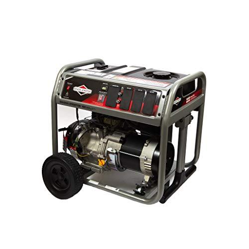 Briggs & Stratton 5000 Watt Portable Generator with Circut Breaker Protection and 7.5 Gallon Fuel Tank, Powered by Briggs & Stratton, 030713