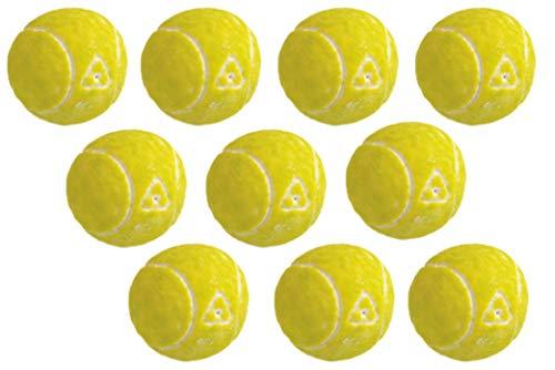 jameitop®🎾 Tennisball KAUGUMMI 10er Pack Tennis Bälle mit Fruchtfüllung 🎾