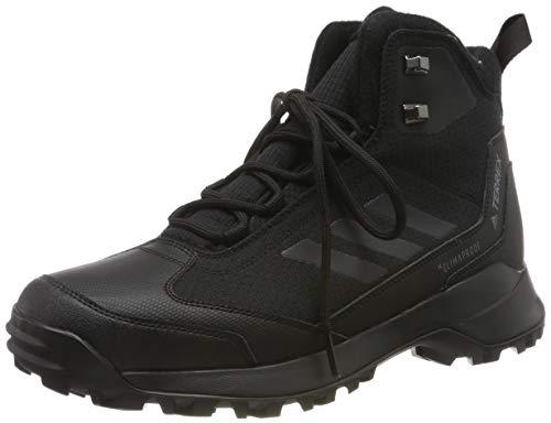 adidas Terrex Heron Mid CW CP, Zapatos de High Rise Senderismo para Hombre, Negro (Core Black/Core Black/Grey 0), 44 EU