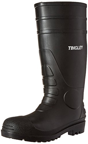 Tingley 31151 Economy SZ8 Kneed Boot for Agriculture, 15-Inch, Black