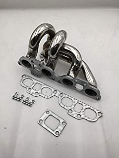 AJP Distributors T2 T25 T28 Turbo Manifold Stainless Steel Performance Upgrade For 1989 1990 1991 1992 1993 1994 1995 1996 1997 1998 89 90 91 92 93 94 95 96 97 98 Nissan 240SX S13 S14 SR20 SR20DET