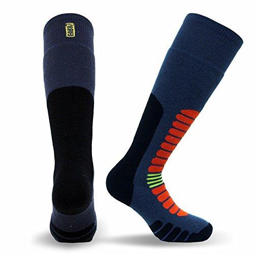 Eurosock Unisex Board Zone Snowboard-Socken, Blauer Sturm, X-Large