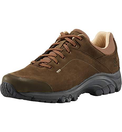 Haglöfs Ridge Leather, Chaussures de Cross Femme, Marron (Soil 090), 39 1/3 EU