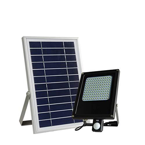 Projecteur solaire à induction de mouvement 120 LED pour extérieur, sécurité, détecteur de lumière, étanche pour jardin, cour, piscine, garage, allée