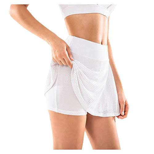 ldgr High Waist Biker Shorts,Short Skorts for Workout Yoga Running Tennis Walking