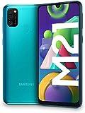 Samsung Galaxy M21 - Smartphone Dual SIM de 6.4' sAMOLED FHD+, Triple Cámara 48 MP, 4 GB RAM, 64 GB ROM Ampliables, Batería 6000 mAh, Android, Versión Española, Color Verde