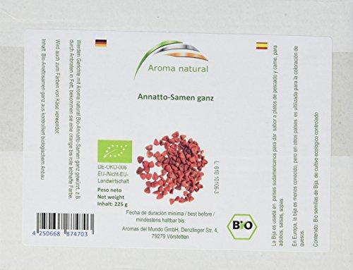 Aroma natural Annatto-Samen ganz (kbA) 225 g, 1er Pack (1 x 225 g)