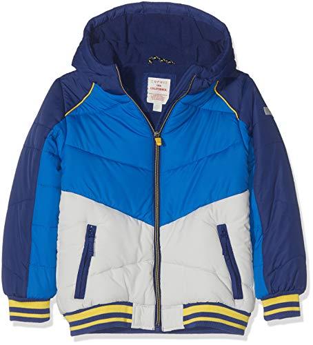 ESPRIT KIDS Jungen Rp4202407 Outdoor Jacket Jacke, Blau (Marine Blue 446), (Herstellergröße: 128+)