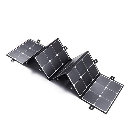 La energía solar kit de panel plegable 180W Cargador solar for RV camping al aire libre del coche del barco Controlador