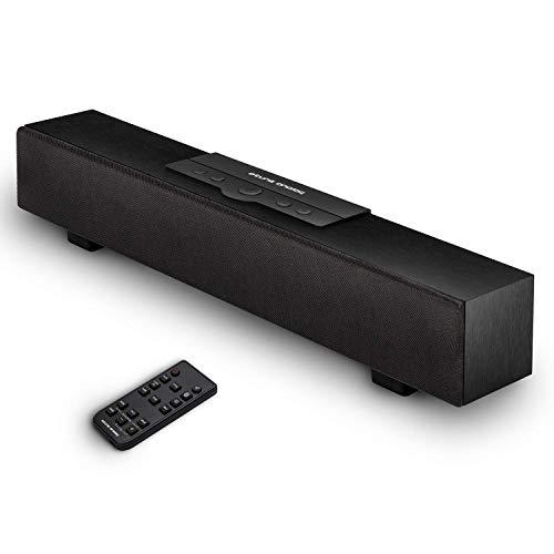 atune analog Barra de Sonido, Altavoz Bluetooth inalámbrico con Cable 5.0, Barras de Sonido de Audio para el hogar por conexión...