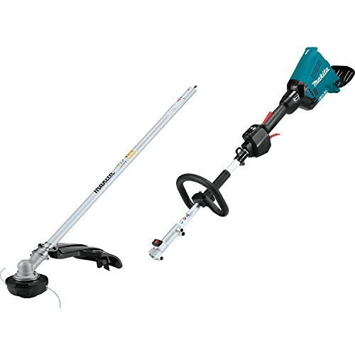 Makita XUX01ZM5 36V (18V X2) LXT Brushless Couple Shaft Power Head with String Trimmer Attachment, Tool Only