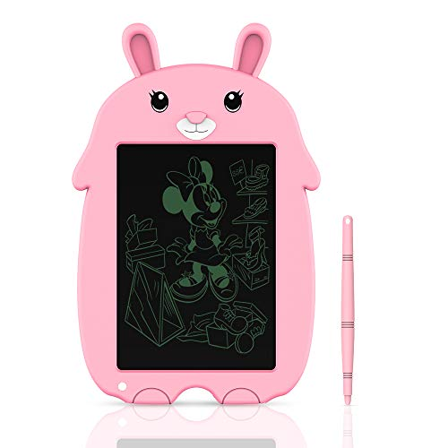 Tableta de Escritura LCD Tablero de Escritura y Dibujo Electrónico de 8,5 Pulgadas- Regalo para Niños (Pink) 🔥