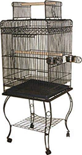 A&E Cage 600H Black Economy Play Top Bird Cage
