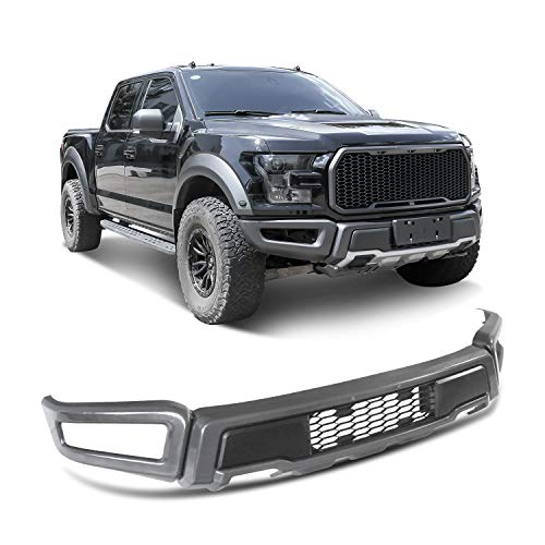 Tecoom Front Bumper Kit New Raptor Style for Compatible with Ford 2015-2017 F-150