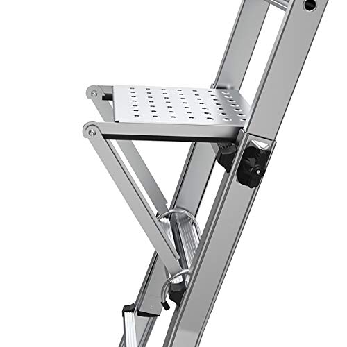 Little Giant Ladders, Work Platform, Ladder Accessory, Aluminum, 375 lbs weight rating, (10104)